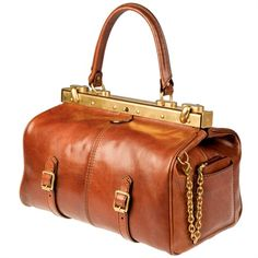 A stunning Doctor's or Gladstone bag from The Bridge - a classic style for over a century.