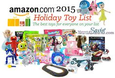 Amazon 2015 Holiday Toy List - are your favorites on the list?