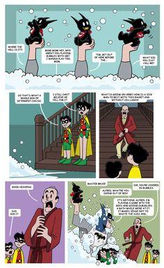 Mr. Bat-Mom Page 32 by The-BlackCat.deviantart.com on @deviantART