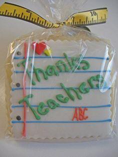 Teacher cookie
