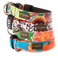 Obsessed with MiMiGreen Designer Dog Collars!