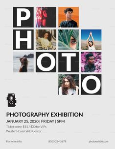 Make Money with Photography Photography Exhibition Flyer Template Vacuum Cleaner – How It Works Most Jazz Poster, Neon Poster, Poster Photography, Photography Exhibition, Photography Portfolio, Photography Brochure, Creative Photography, Poster Design Layout, Graphic Design Posters