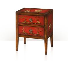 A Vision in Scarlet Accent Bedside Chest Main Image