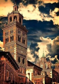 Teruel Cathedral in Spain