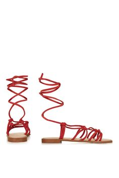 FUNFAIR Knotted Sandals