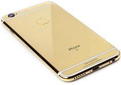 Shop Now - >  https://api.shopstyle.com/action/apiVisitRetailer?id=497082187&pid=uid6996-25233114-59 Goldgenie 24K Gold iPhone 6S 128GB  ...