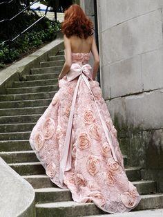 pink rose dress <3
