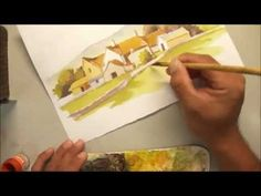 690 Art Class - Watercolour Painting ( Home series - 1 )