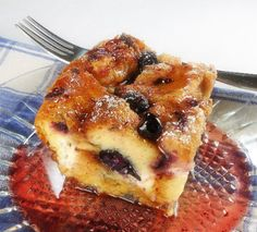 One Perfect Bite: Overnight Blueberry French Toast
