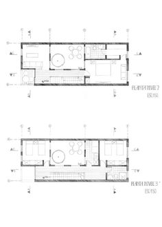 Proyecto Habitar/2014-1/Casa angosta entre medianeras on Behance
