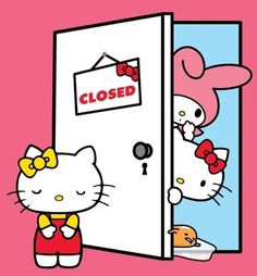 Just a reminder, Sanrio Japanese Village will be closed on Monday, from and on Tuesday, from Sorry for any inconvenience! Hello Kitty My Melody, Baby Friends, Hello Kitty Pictures, Close Today, June 4th, Hello Kitty Wallpaper, Sanrio Characters, Colorful Wallpaper, Thankful