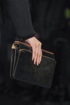 black and gold #aprilpride #leatherclutch #runway #bag #minimalistfashion
