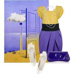 """Rene Magritte"" by georgina-m on Polyvore"