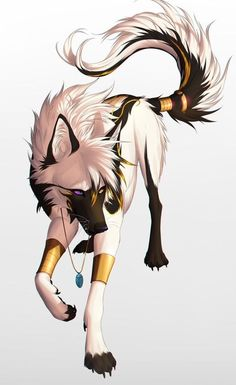 """""""Whats a king to a god? Art is by dNiseb Character is owned by me ^^ King of Kings, Devil of Devils Pet Anime, Anime Animals, Anime Art, Anime Wolf Drawing, Furry Drawing, Anime Sketch, Cute Animal Drawings, Cute Drawings, Wolf Drawings"""