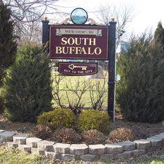 South Buffalo Welcome Sign, Buffalo, New York