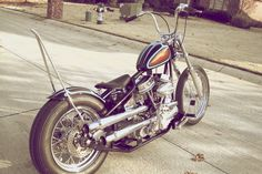 Panhead Custom by Maindrive Cycles Texas USA