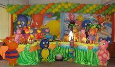 backyardigans birthday party | backyardigans bday party ideas | Pinterest
