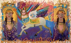 The Art and Heart of Kurdish Painter The Kurds, Kurdistan, Art Portfolio, Princess Zelda, Painting, Thoughts, Fictional Characters, Beautiful, Heart