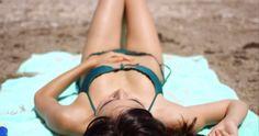 Woman Suntanning On a Tropical Beach In Summer Sun #Beach, #Beautiful, #Bikini, #DanielDash, #Exotic, #Girl, #Hot, #Laying, #Sand, #Sea, #Summer, #Sun, #Sunbath, #Tan, #Towel, #Woman http://goo.gl/mdd1QO
