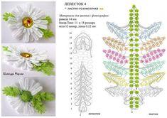 Цветы в технике ндебеле