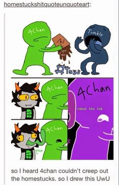 july on tumblr: a summary <<< this was so long ago but i love the fact that homestucks didnt give a shit