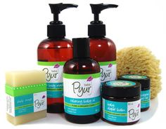 Pyur bebe | Pure and Organic Care  Love this line of products.