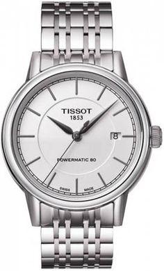 T085.407.11.011.00, T0854071101100, Tissot carson powermatic watch, mens