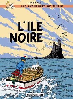 Tintin -7- L'île noire - BD