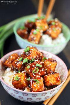 Honey Sesame Tofu Recipe on Yummly
