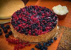 Torta Ai Frutti Di Bosco Elite - Torte Elite American Style - Dolci Congelati Dolci Surgelati Torte Congelate Torte Surgelate Pasticceria Congelata Pasticceria Surgelata Italiana - Desserts Dolcefreddo Moralberti