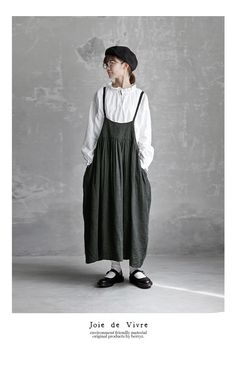 BerryStyle | Rakuten Global Market: Cook the Joie de Vivre east; a linen herringbone camisole dress