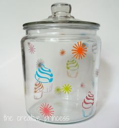 Dressing up Glass Canisters with Painters Paint Markers via @INDI Interiors @Matty Chuah Creative Princess http://bit.ly/IF5Z77 #ExpressYourself