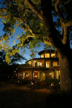 Point Clear, Alabama ~ The Grand Hotel ~ best breakfast ever!  Cozy, intimate, great spa, beautiful landscape and view of the bay ~ and close to Fairhope shopping!