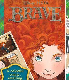 Disney apps for kids: Brave Interactive Comic