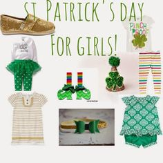 Favorite St. Patrick's Day Finds for Girls and Boys