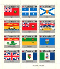 Provincial Flags Canadian Things, I Am Canadian, Canadian History, Canadian Provincial Flags, Canada 150, Canada Images, Sign Off, True North, Flags Of The World