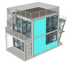 Foxworth Architecture - Schnitzelburg Container Homes