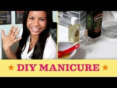 Learn how to take care of your nails & cuticles using ingredients and everything you need is already in your kitchen. In a few easy steps, Chloe shows us how to grow long, healthy and strong #nails! #manicure