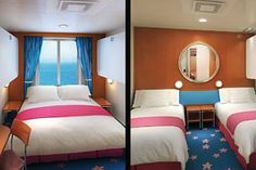 9 Things You Don't Know About Your Cruise Ship Cabin - this is a great article to read before you cruise!! When you are ready to book, email minniememoriestravel@gmail.com and we will take care of all the details for you!