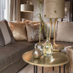 Duran Lighting and Interiors || Redonda Sidetable || Available in Old Bronze, Zinc and Brass || http://www.duran.nl/product/redonda/