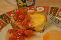 A Taste of Alaska: Baked Eggs in Potatoes