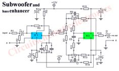 Subwoofer booster circuit - Electronic Circuit