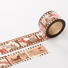 Vintage Film Washi Tape