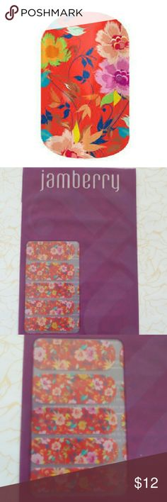 NIP Jamberry Promised nail wraps Brand new in package.  Choose two nail wrap sheets for $17! I'll be uploading at least 20 sheets to choose from.  I am not, nor have I ever been, a Jamberry consultant, just an enthusiast.  No trades. Jamberry Makeup