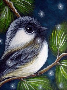 Artist's Portfolio of Cyra R. Cancel - Thumbnails Page 1 of 1 Sidewalk Chalk Art, Animal Paintings, Bird Paintings, Winter Painting, Artist Portfolio, Cute Animal Drawings, Animal Coloring Pages, Pastel Drawing, Pictures To Paint