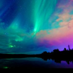 Nature is so beautiful. It's such a gift to be able to behold the majesty of the Northern Lights.