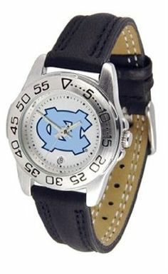North Carolina Tar Heels UNC NCAA Womens Leather Wrist Watch by SunTime. $49.95. Adjustable Band. Officially Licensed North Carolina Tarheels Women's Leather Band Athletic Watch. Calendar Function With Rotating Bezel. Leather Band-Scratch Resistant Crystal. Women. This beautiful eye-catching Ladies Sport Watch With Leather Band comes with a genuine leather strap. A date calendar function plus a rotating bezel/timer circles the scratch-resistant crystal. Sport the b...