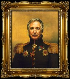 Famous people Photoshopped into Russian general portraits... these are hilarious!