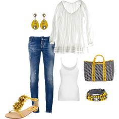 Yellow blue and White :) :) :)