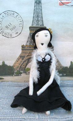 Ruby Handmade Rag Doll 22 Inch Handcrafted by palomitaragdolls